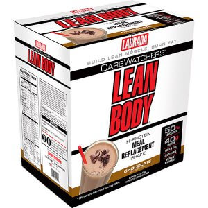 CarbWatchers Lean Body - Hi Protein Meal Replacement Shake - Chocolate Ice Cream - (42pk) 2.73kg