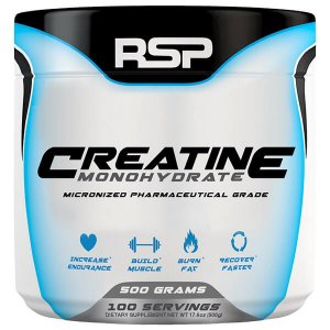 RSP Nutrition - Creatine Monohydrate - Micronized Pharmaceutical Grade
