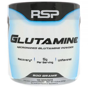 RSP Nutrition - Glutamine - Micronized Pharmaceutical Grade