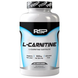 RSP Nutrition - L-Carnitine Tartrate Caps