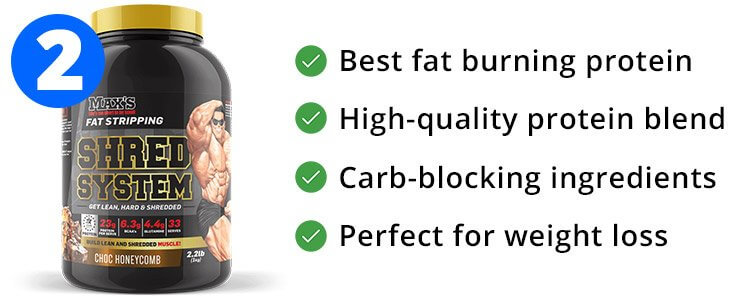 #2 - Max's Shred System - Best Weight Loss Protein